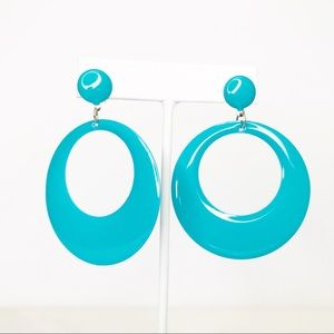 🌺 3 for $20 🌺 Teal Hoops